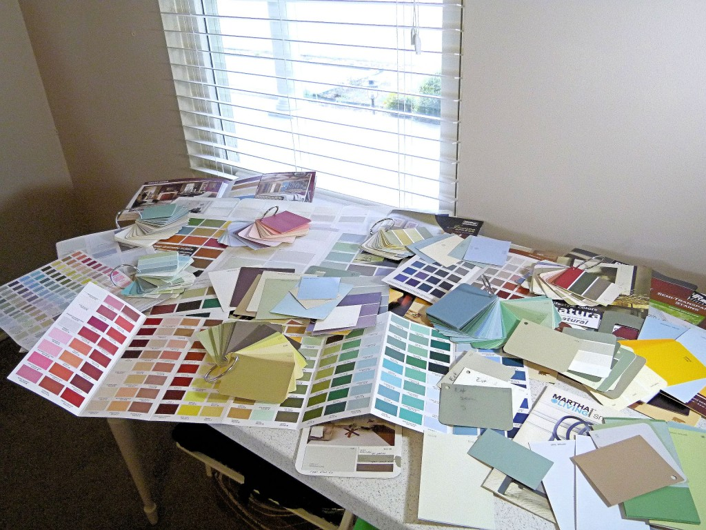 choose a paint palette for your home