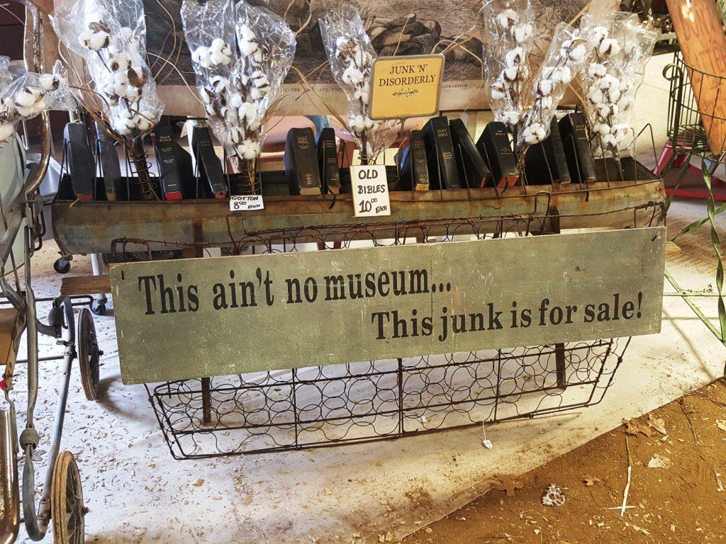 vintage market days - aint no museum